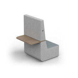 Elements | Straight end top right high | Fauteuils | Conceptual