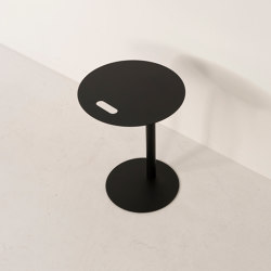 Laptop Tables | Steel Laptop Table Round | Contract tables | Conceptual
