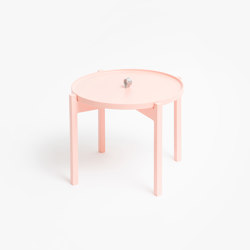 Ogis Pastel Pink | Side tables | Aggy