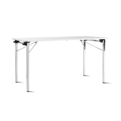 f.t.s. folding table 4-leg base, square feet | Tavoli contract | Wiesner-Hager