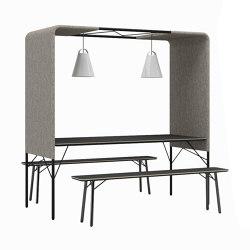 m.zone cloud | Tables et bancs | Wiesner-Hager