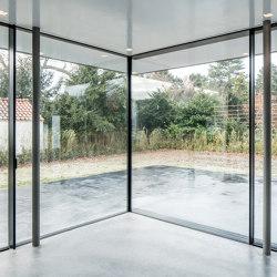 Corner  | Double Sliding Corner | Window types | Orama Minimal Frames