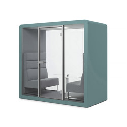 Space 2 | Aquamarine | Office Pods | Silen