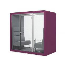 Space 2 | Aubergine | Office Pods | Silen