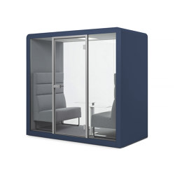 Space 2 | Azurite | Office Pods | Silen
