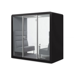 Space 2 | Black | Office Pods | Silen