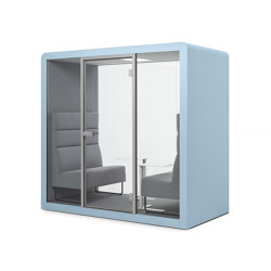 Space 2 | Blue Iris | Office Pods | Silen