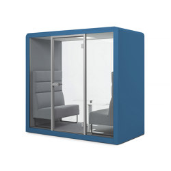 Space 2 | Blue Navy | Office Pods | Silen