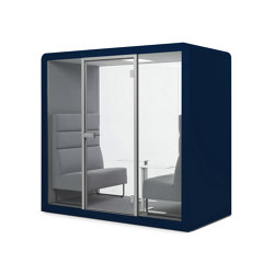 Space 2 | Blue Tiber | Office Pods | Silen