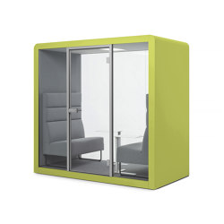 Space 2 | Citrus Green | Office Pods | Silen