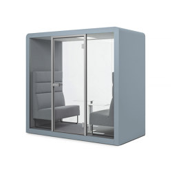 Space 2 | Frozen Blue | Office Pods | Silen