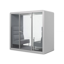 Space 2 | Ligth Grey | Office Pods | Silen