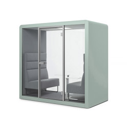 Space 2 | Mint | Office Pods | Silen