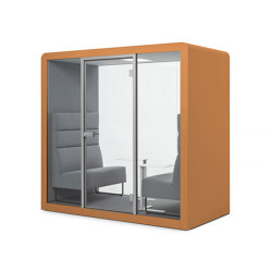 Space 2 | Orange | Office Pods | Silen