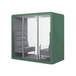 Space 2 | Signal Green | Office Pods | Silen