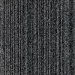 Carpet Foundry - Acoustic Option | Dusk & Charcoal Stripe | Carpet tiles | Amtico