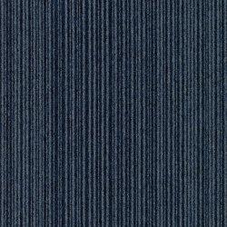 Carpet Foundry - Acoustic Option | Midnight & Cornflower Stripe | Carpet tiles | Amtico