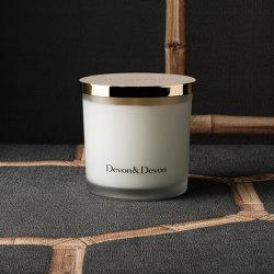 Home Boutique | Candle 300 gr Rose Musk | Candlesticks / Candleholder | Devon&Devon