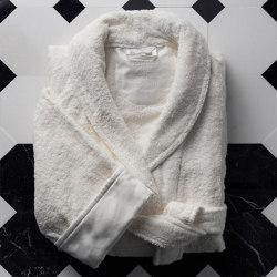 Home Boutique | Unisex towelling bathrobe S/M & L/XL | Towels | Devon&Devon