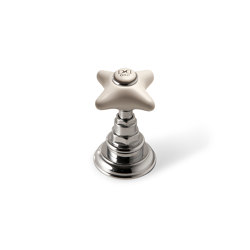 White Rose Cut-off tap | Bathroom taps accessories | Devon&Devon