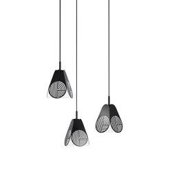 Notic Triplette Black   Suspended lights   Oblure