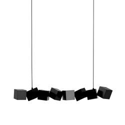 Blockchain Black | Lámparas de suspensión | Oblure