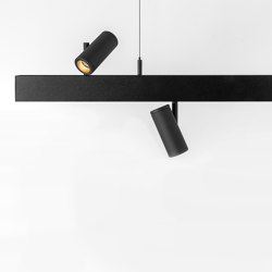 Pista suspension up/down | Suspended lights | Modular Lighting Instruments