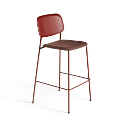 Soft Edge 10 Bar Stool Upholstery | Tabourets de bar | HAY