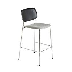 Soft Edge P10 Bar Stool Upholstery | Tabourets de bar | HAY