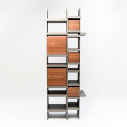 Pyrite Bookshelf | Shelving | La manufacture