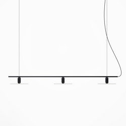 Black Linear Chandelier | Suspensions | Beem Lamps