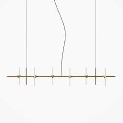 Brass Aerial Chandelier | Suspensions | Beem Lamps