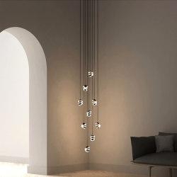 Curli 9 Drop Cascade | Suspended lights | Beem Lamps