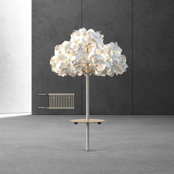 Leaf Lamp Metal Tree & Seamless Table | Free-standing lights | Green Furniture Concept