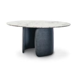 Mellow - version ronde | Tables de repas | Bonaldo