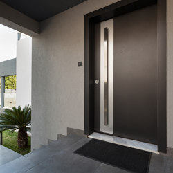 Smartia | MD67 | Entrance doors | ALUMIL