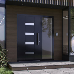Smartia | MD9660 | Entrance doors | ALUMIL