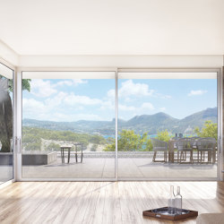 Smartia | S560 | Patio doors | ALUMIL
