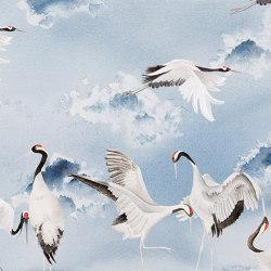 Dancing cranes | Revestimientos de paredes / papeles pintados | WallPepper