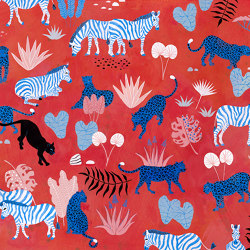 Rosso savana | Wall coverings / wallpapers | WallPepper