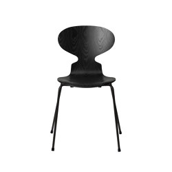 Ant™ | 3101, Black, coloured ash, black base | Sedie | Fritz Hansen