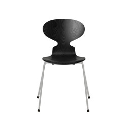 Ant™ | 3101, Black, coloured ash, nine grey base | Sedie | Fritz Hansen