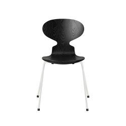 Ant™ | 3101, Black, coloured ash, white base | Sillas | Fritz Hansen