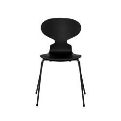 Ant™ | 3101, Black, lacquered, black base | Sillas | Fritz Hansen