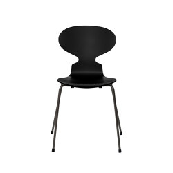 Ant™ | 3101, Black, lacquered, warm graphite base | Sillas | Fritz Hansen