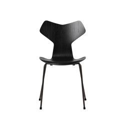 Grand Prix™ | 3130, Black, coloured ash, black base | Sillas | Fritz Hansen