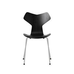 Grand Prix™ | 3130, Black, coloured ash, nine grey base | Sillas | Fritz Hansen