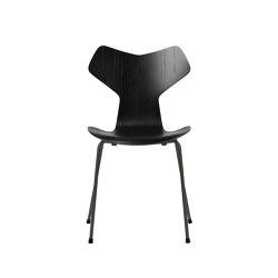 Grand Prix™ | 3130, Black, coloured ash, warm graphite base | Sillas | Fritz Hansen