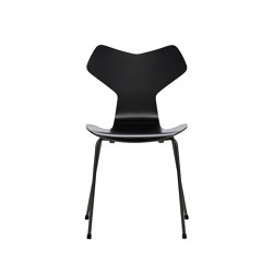 Grand Prix™ | 3130, Black, lacquered, black base | Chairs | Fritz Hansen