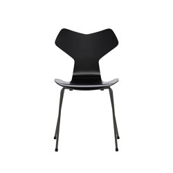 Grand Prix™ | 3130, Black, lacquered, warm graphite base | Stühle | Fritz Hansen